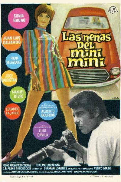 Caratula, cartel, poster o portada de Las nenas del mini-mini