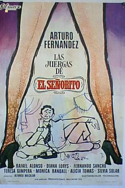 Caratula, cartel, poster o portada de Las juergas de \'El Señorito\'