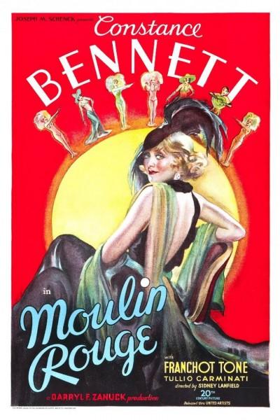 Caratula, cartel, poster o portada de La estrella del Moulin Rouge