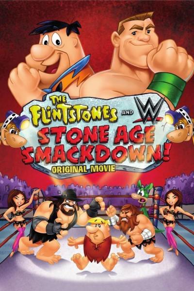 Caratula, cartel, poster o portada de Los Picapiedra & WWE: Stone Age Smackdown!