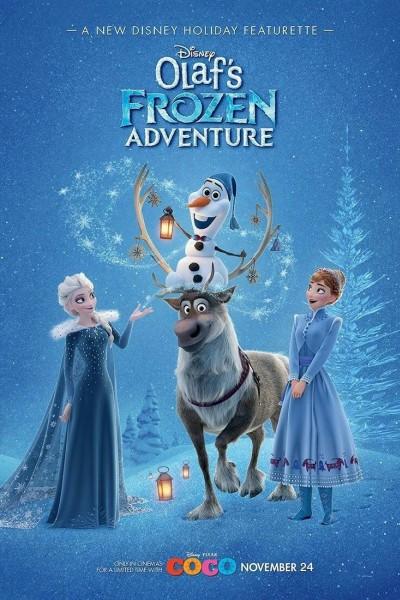 Caratula, cartel, poster o portada de Frozen: Una aventura de Olaf