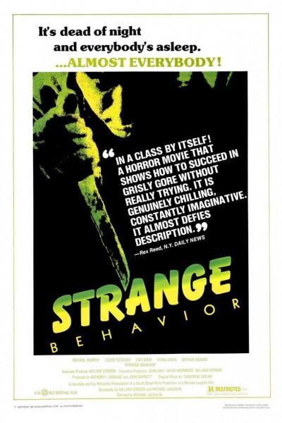 Caratula, cartel, poster o portada de Strange Behavior (Jóvenes muertos)