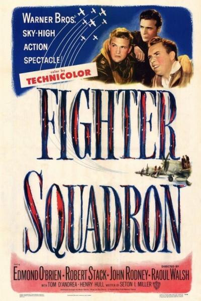 Caratula, cartel, poster o portada de Escuadrón de combate