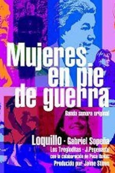Caratula, cartel, poster o portada de Mujeres en pie de guerra