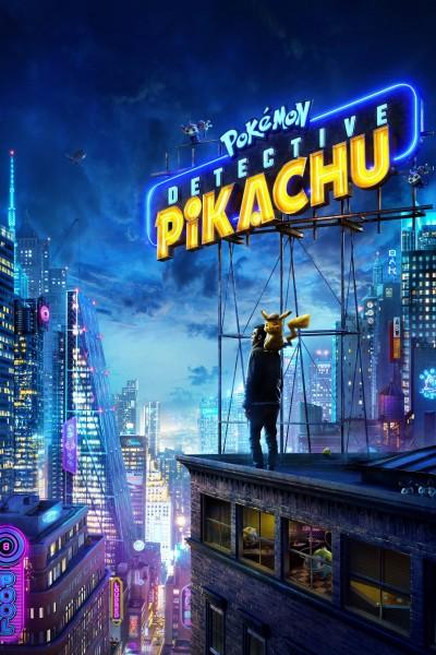 Caratula, cartel, poster o portada de Pokémon: Detective Pikachu