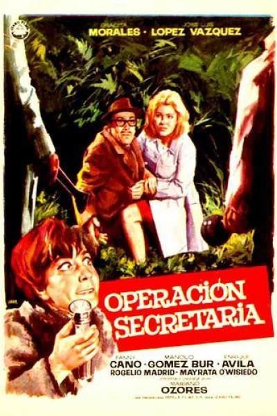 Caratula, cartel, poster o portada de Operación Secretaria