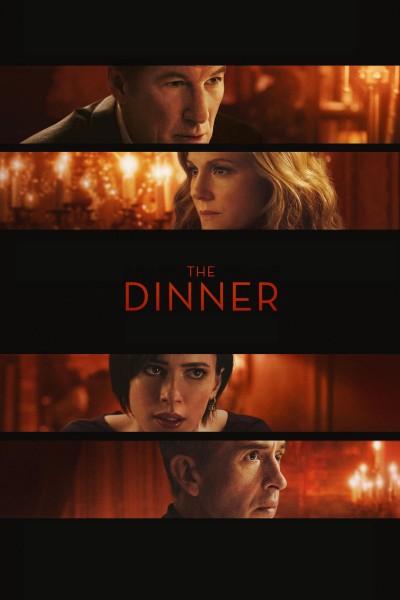 Caratula, cartel, poster o portada de La cena