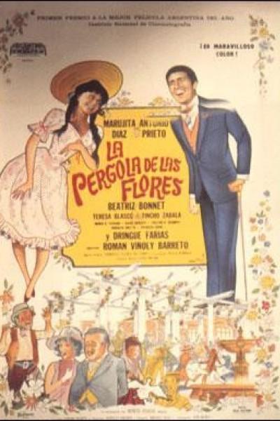 Caratula, cartel, poster o portada de La pérgola de las flores