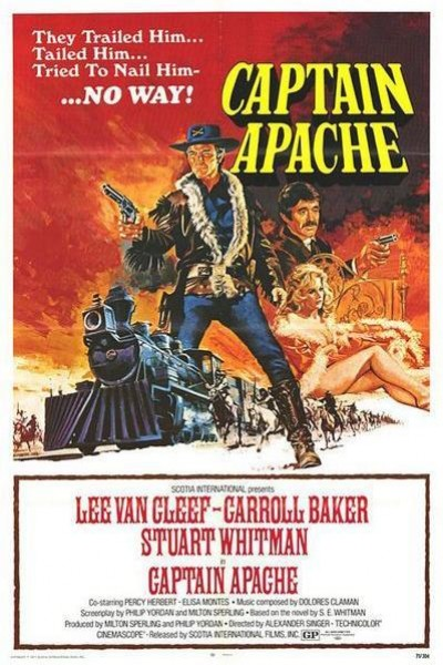 Caratula, cartel, poster o portada de Capitán Apache