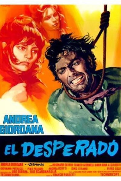 Caratula, cartel, poster o portada de El desesperado