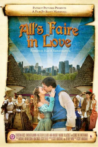 Caratula, cartel, poster o portada de All\'s Faire in Love