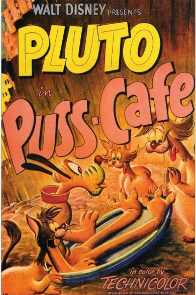 Caratula, cartel, poster o portada de Pluto: Puss Cafe (Pluto y los gatos)