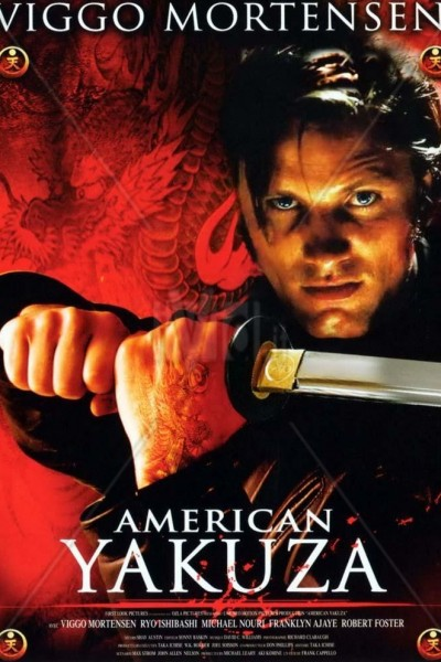 Caratula, cartel, poster o portada de American Yakuza