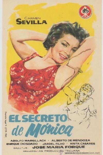 Caratula, cartel, poster o portada de El secreto de Mónica