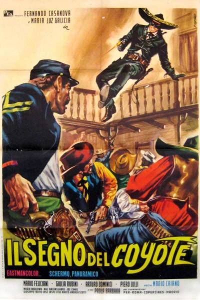 Caratula, cartel, poster o portada de El vengador de California