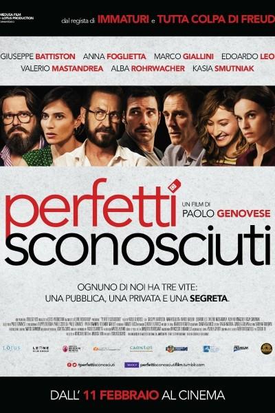 Caratula, cartel, poster o portada de Perfetti sconosciuti