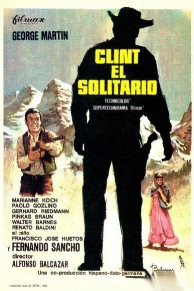 Caratula, cartel, poster o portada de Clint el solitario