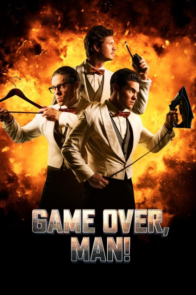 Caratula, cartel, poster o portada de ¡Game Over, tío!