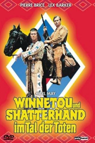 Caratula, cartel, poster o portada de Winnetou en el valle de la muerte