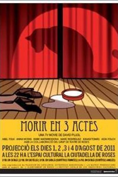 Caratula, cartel, poster o portada de Morir en tres actos