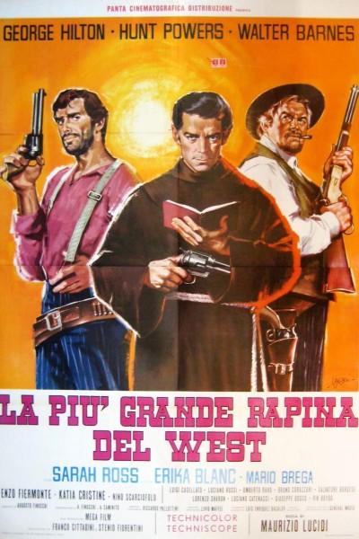 Caratula, cartel, poster o portada de El robo más grande del Oeste (El mayor atraco frustrado del Oeste)