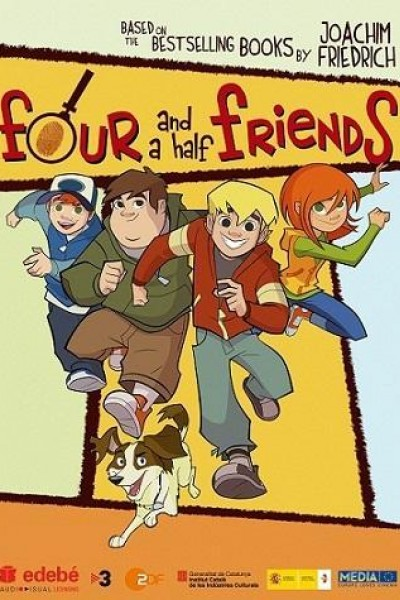 Caratula, cartel, poster o portada de Cuatro amigos y medio