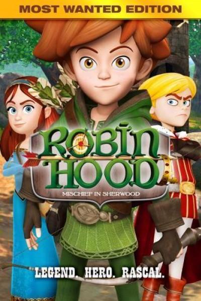 Caratula, cartel, poster o portada de Robin Hood: Aventuras en Sherwood