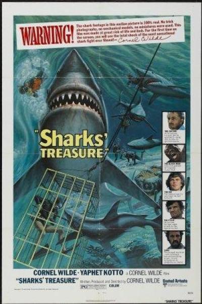 Caratula, cartel, poster o portada de El tesoro de los tiburones