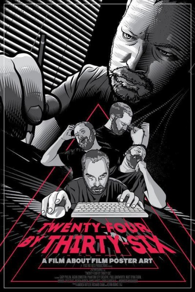 Caratula, cartel, poster o portada de 24X36: A Movie About Movie Posters