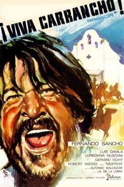 Caratula, cartel, poster o portada de ¡Viva Carrancho!