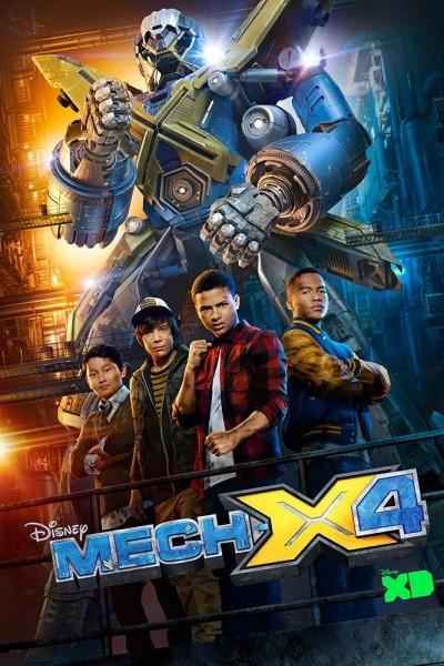 Caratula, cartel, poster o portada de Mech-X4