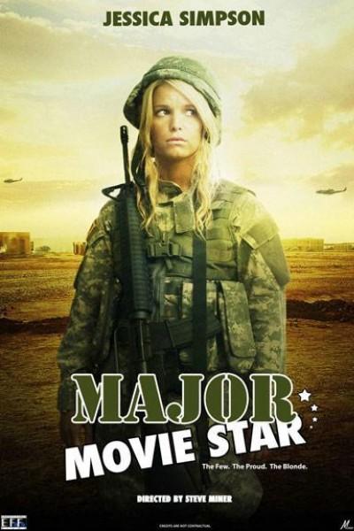 Caratula, cartel, poster o portada de Major Movie Star