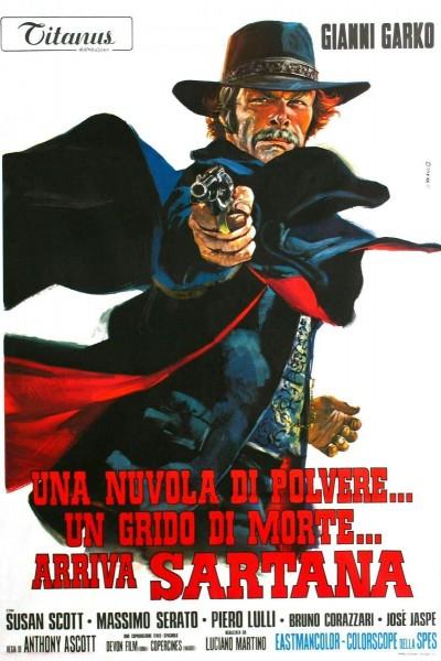 Caratula, cartel, poster o portada de Llega Sartana
