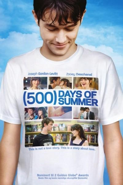 Caratula, cartel, poster o portada de (500) días juntos