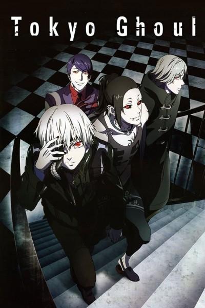 Caratula, cartel, poster o portada de Tokyo Ghoul