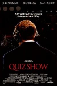 Caratula, cartel, poster o portada de Quiz Show. El dilema