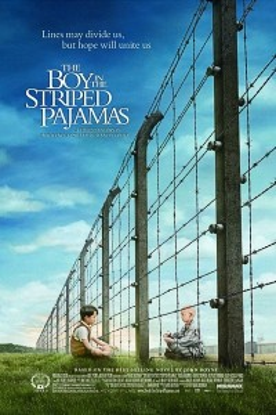 Caratula, cartel, poster o portada de El niño con el pijama de rayas