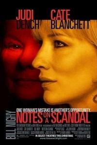 Caratula, cartel, poster o portada de Diario de un escándalo