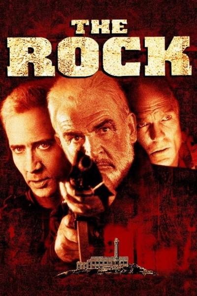 Caratula, cartel, poster o portada de La roca