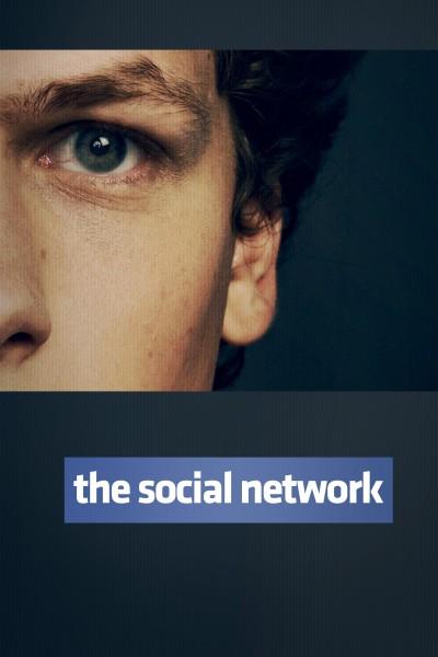 Caratula, cartel, poster o portada de La red social