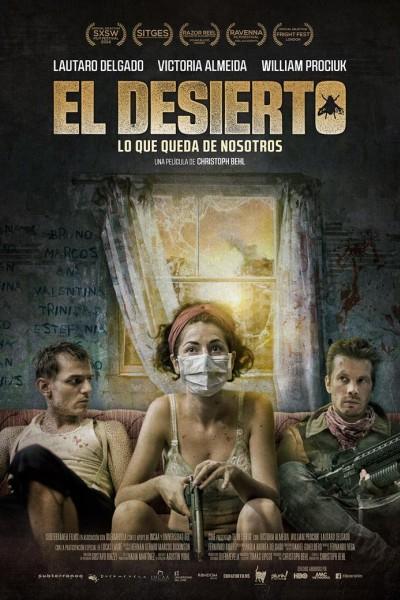 Caratula, cartel, poster o portada de El desierto