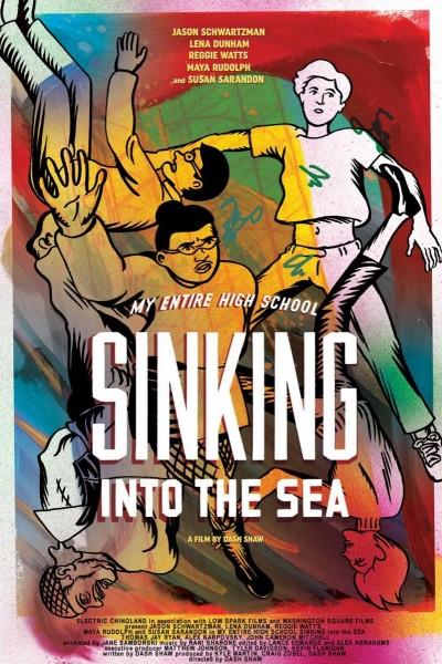 Caratula, cartel, poster o portada de Todo mi instituto hundiéndose en el mar