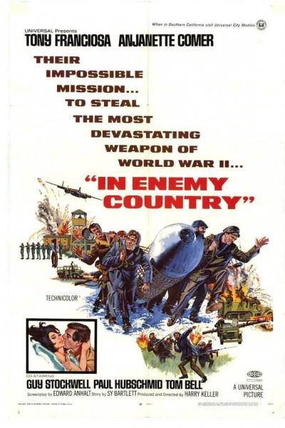 Caratula, cartel, poster o portada de En país enemigo