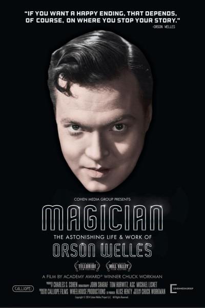 Caratula, cartel, poster o portada de Orson Welles, el genio creador