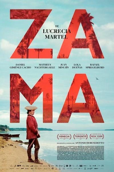 Caratula, cartel, poster o portada de Zama