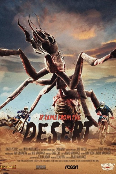 Caratula, cartel, poster o portada de It Came from the Desert