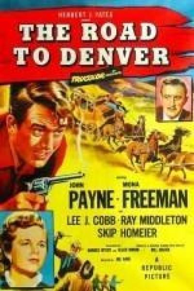 Caratula, cartel, poster o portada de La ruta de Denver