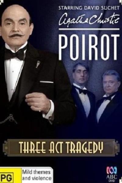 Caratula, cartel, poster o portada de Agatha Christie: Poirot - Tragedia en tres actos