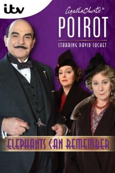 Caratula, cartel, poster o portada de Agatha Christie: Poirot - Los elefantes pueden recordar