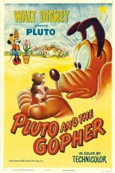 Caratula, cartel, poster o portada de Pluto and the Gopher